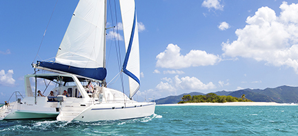 luxueuze catamaran