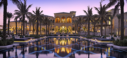 One-and-Only-Palm -Dubai front view the palm jumeirah