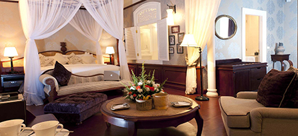 luxury residence in Luang Prabang