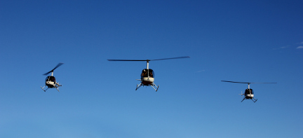 Luxereis Australië Helicopter Mustering
