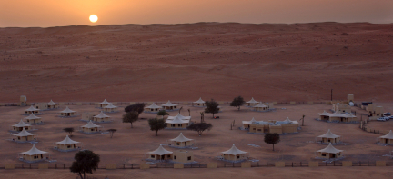 Oman_desert nights camp_view of the camp
